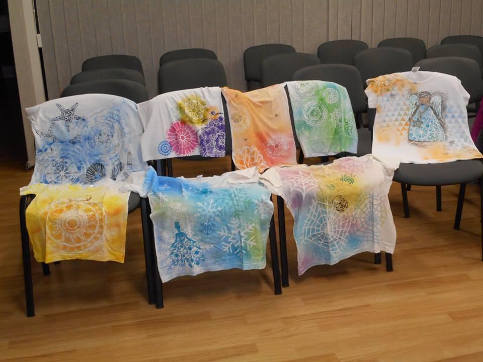 Malování na trička