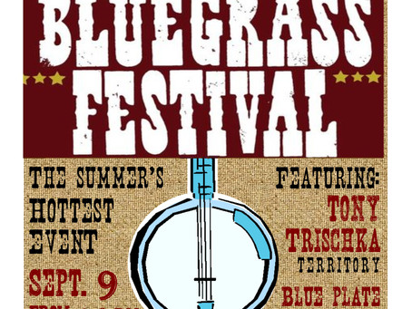 Annual Bluegrass Festival at Harmony Hall!