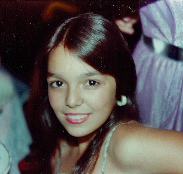 Elaine at 11 years old