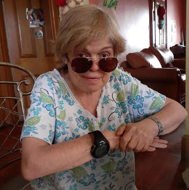 Aunt Elizabeth today