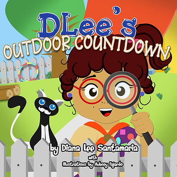 Childrens Book, Latina, lesson plans, count, learn to count