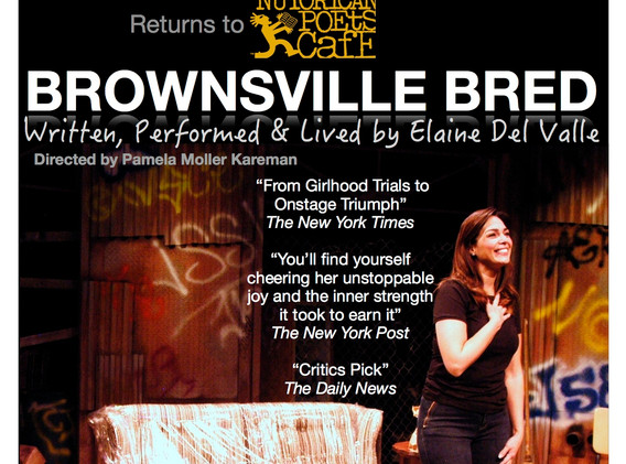 Elaine Del Valle, Brownsville Bred, playwright, latinx