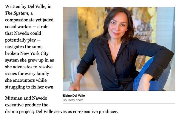Elaine Del Valle lands CBS development d
