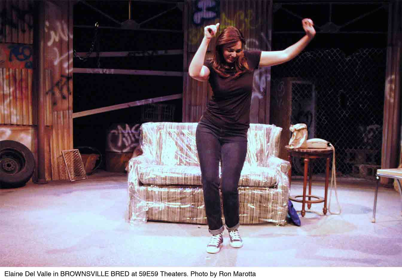 Brownsville Bred, Playwright, Elaine Del Valle