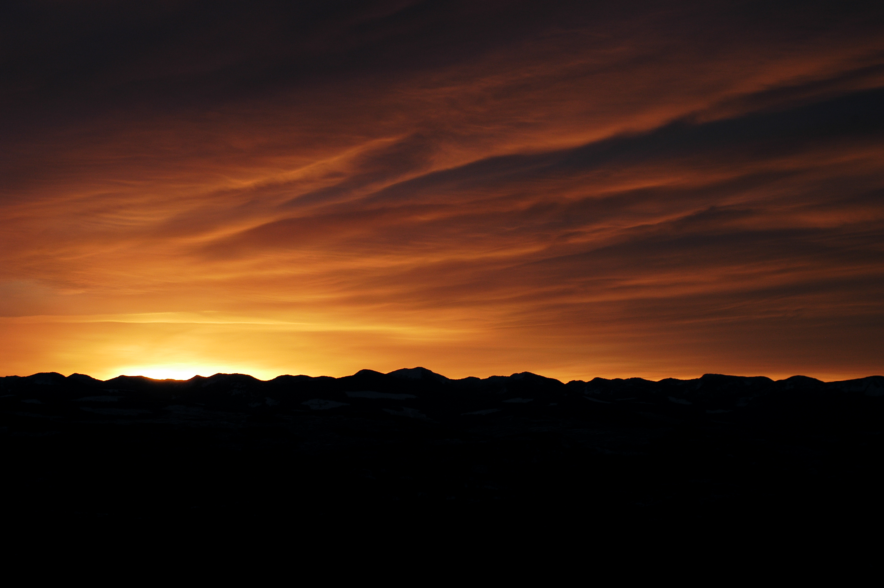 Sunset at Big White