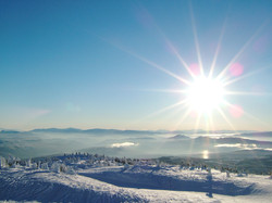 A bluebird day at Big White