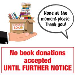 2020 Friends web no book donations clip