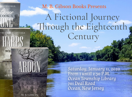 Author Talk! This Saturday!