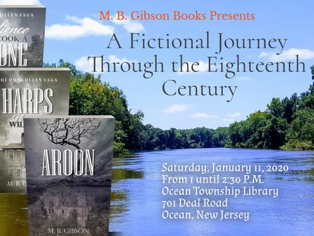 Author Talk! This Saturday!