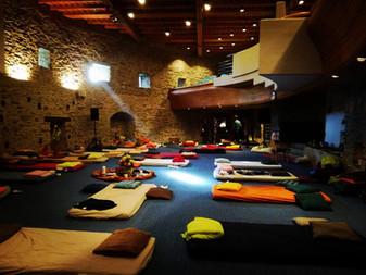 Holotropic Breathwork® room Peace Castle Schlaining