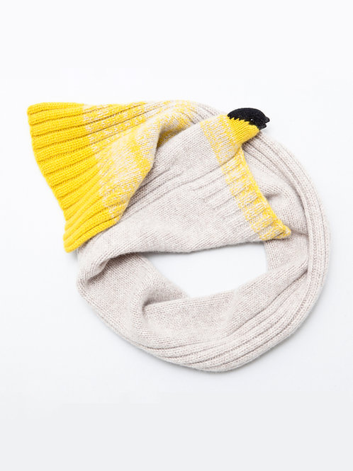 Yellow Finch Scarf