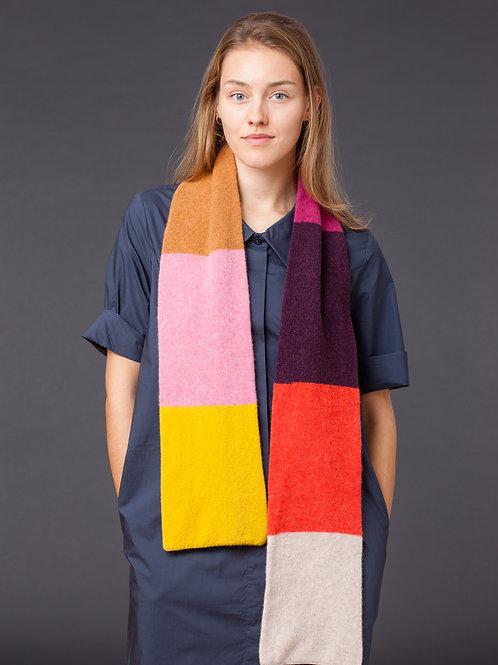 Colourful Striped Scarf
