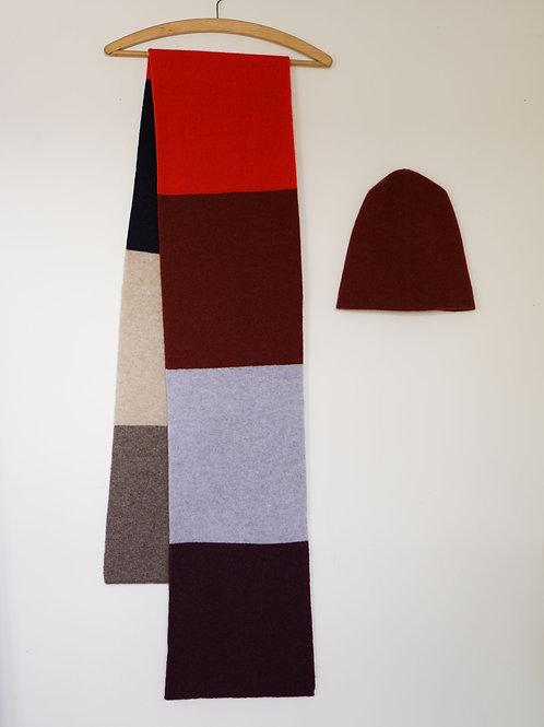 Big Colour Block Scarf