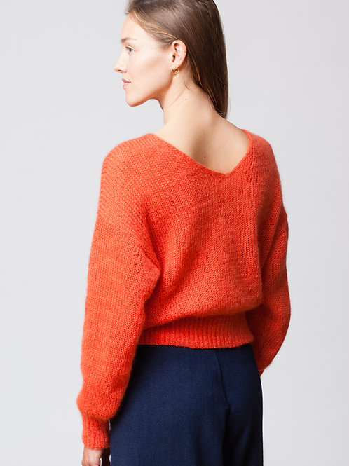 Red Mohair Sweater
