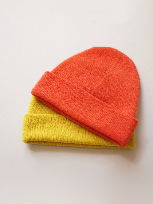 Circular knitted Beanie