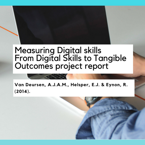 Measuring Digital Skills: From Digital Skills to Tangible Outcomes project report