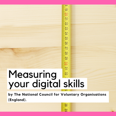 Measuring your digital skills