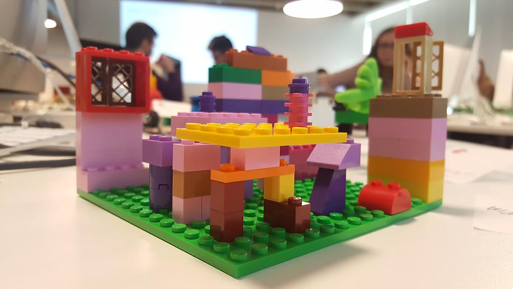 Using Lego to explore design ideas