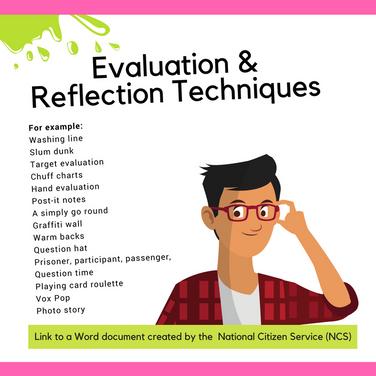 Evaluation & Reflection Techniques