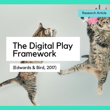 Observing and assessing young children's digital play in the early years: Using the Digital Play Framework