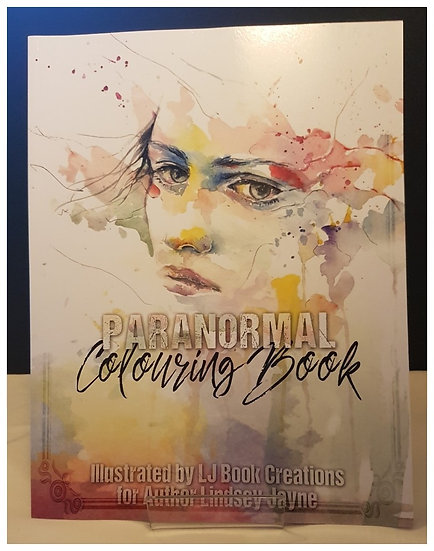 Signed Paranormal Colouring Book