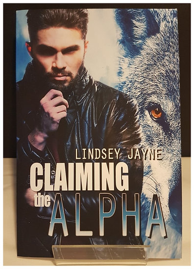 Claiming the Alpha Signed Paperback