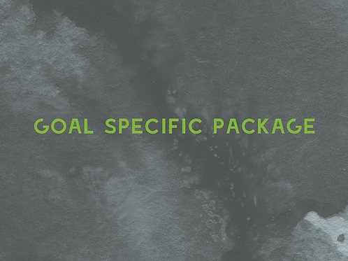 Goal specific package