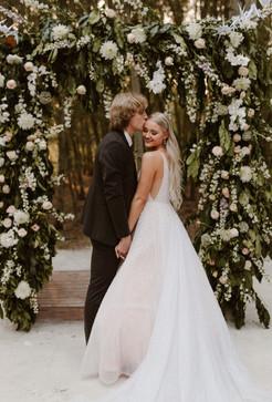 SPRAY TAN, bride and groom, Die Woud