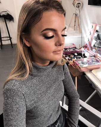 FULL GLAM MAKEUP, with baking and lashes