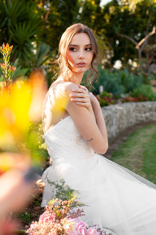 BRIDAL HAIR AND MAKEUP, Graceland Venues Paarl, Molteno Creations weding gown, outdoor wedding inspiration