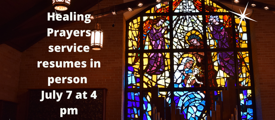 Healing Mass Resumes!