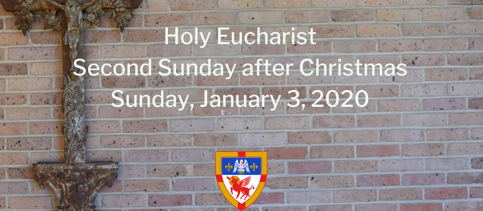 Second Sunday after Christmas: Sunday, January 3, 2021 Service @ 10:30 am on Facebook Live and Vimeo