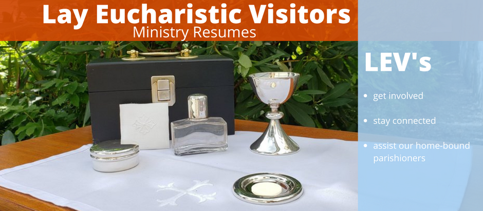 Lay Eucharistic Visitors ministry resumes