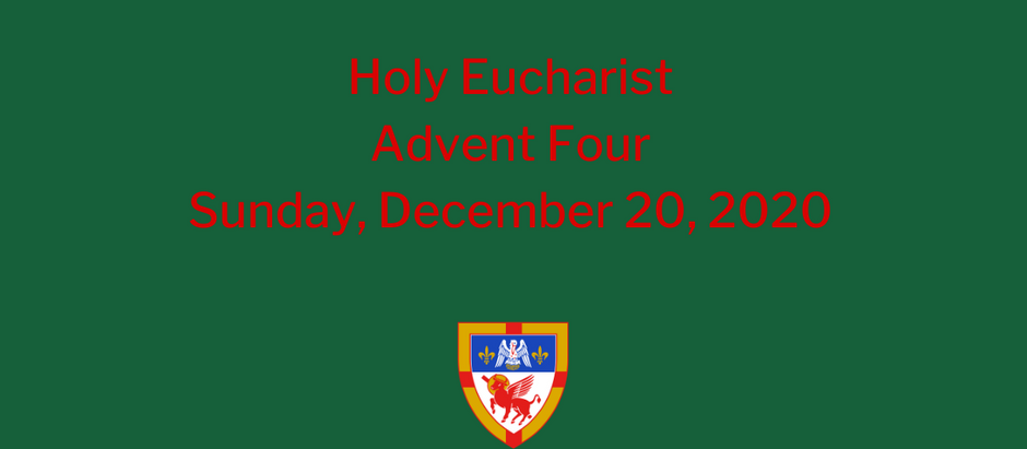 Advent 4: Sunday, December 20, 2020 Service @ 10:30 am on Vimeo