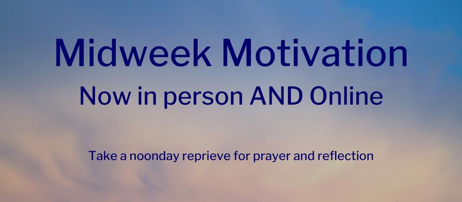December 9: Midweek Motivation 12-noon on Vimeo