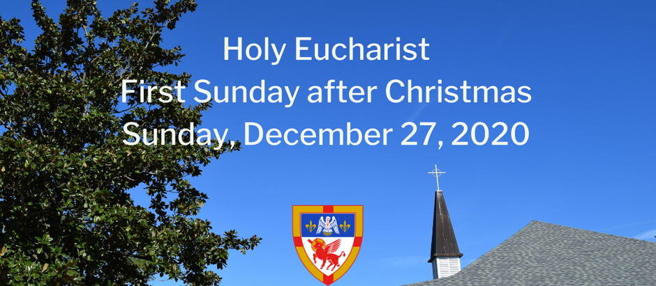 First Sunday after Christmas: Sunday, December 27, 2020 Service @ 10:30 am on Vimeo