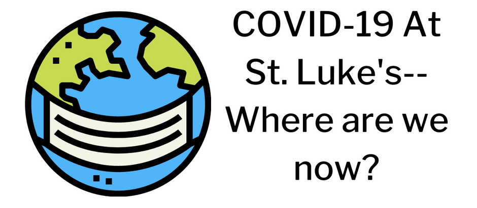 COVID-19 At St. Luke's--Where are we now?