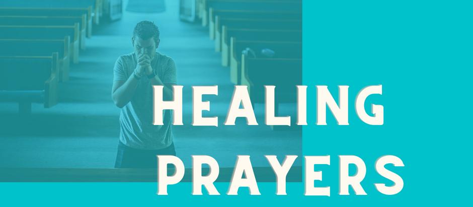 November 4: Healing Prayers @ 5:30 pm on Vimeo
