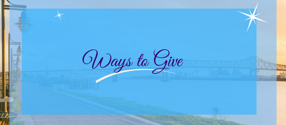 Ways to give at St. Luke's