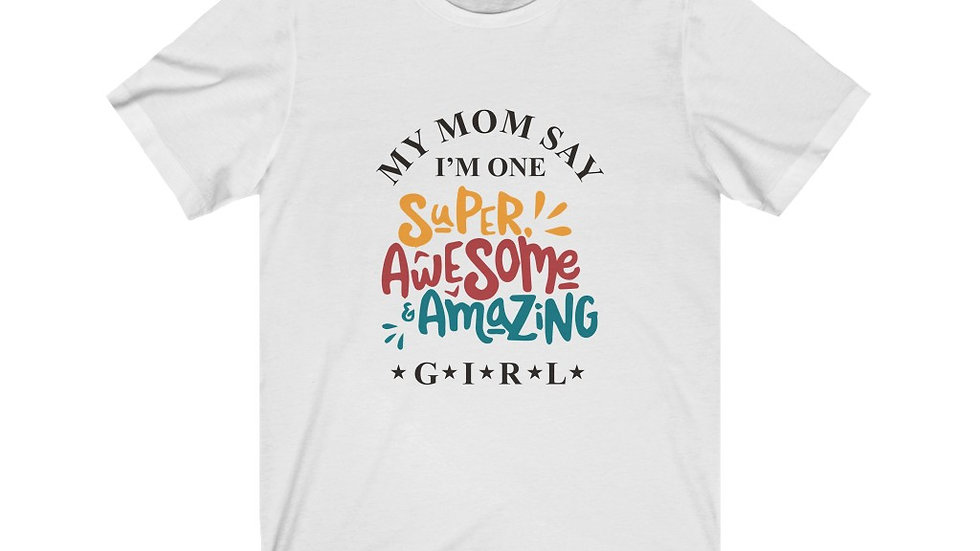 Young Girl's - Jersey Short Sleeve Tee