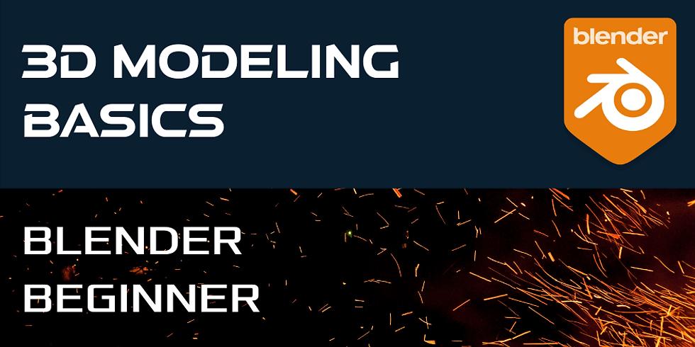 3D Modeling Basics with Blender