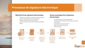 La signature électronique, gain de productivité