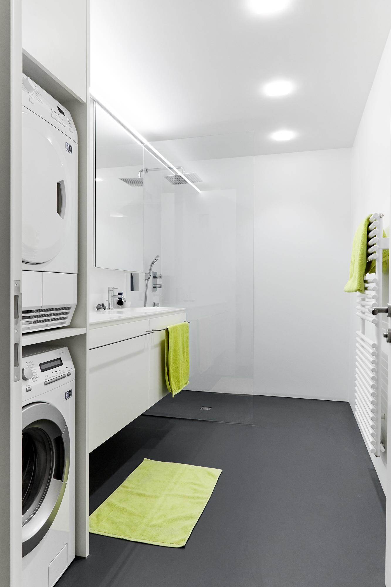 Waschmaschine Trockner Stauraum