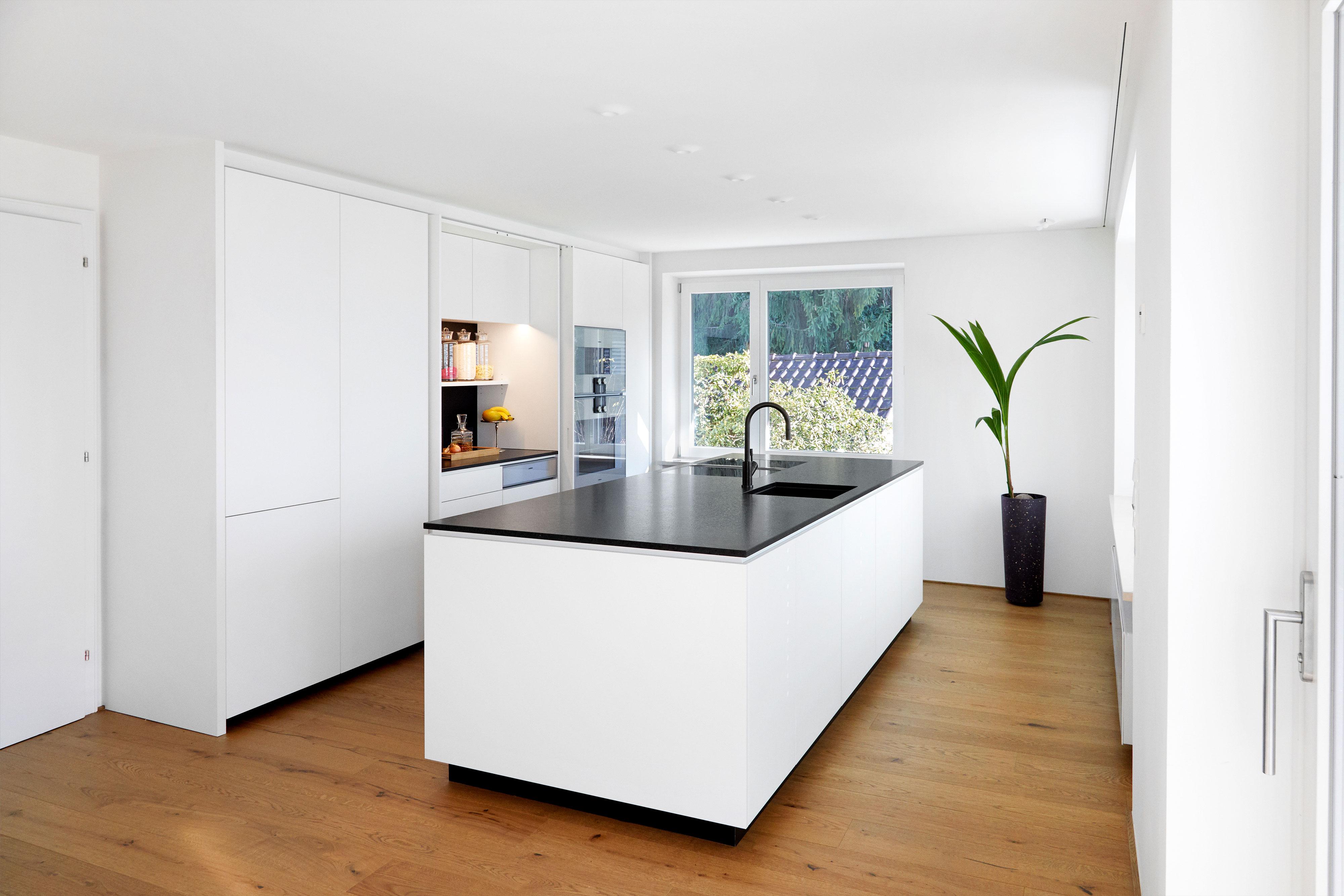 Küche Schwarz Weiß
