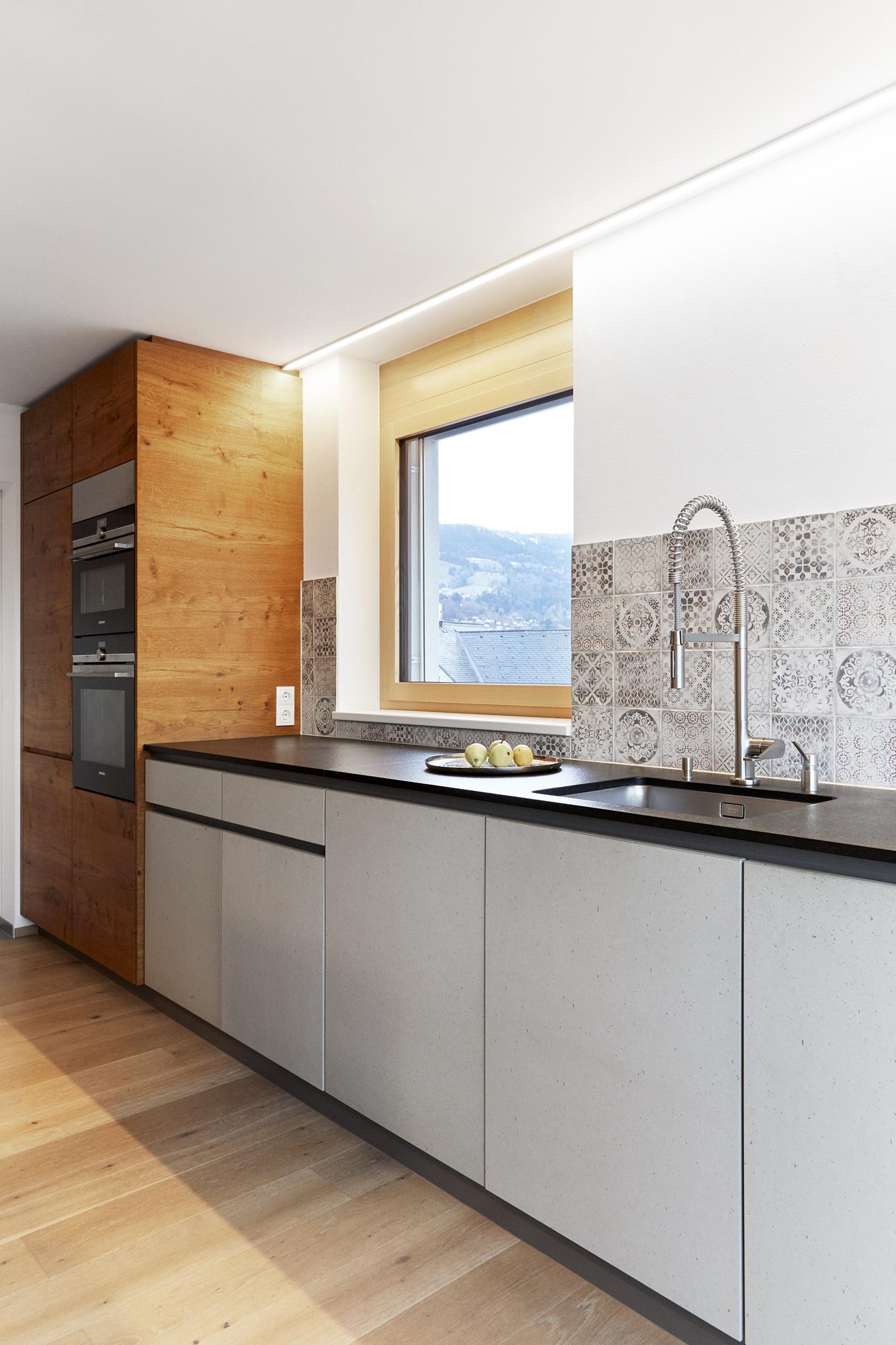 Küchenzeile Beton