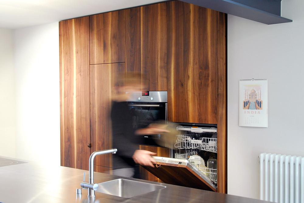 Massivholzküche / solid wood kitchen / Wolfgang Lässer