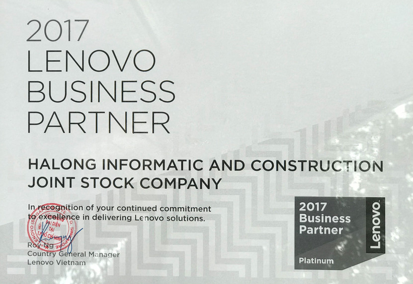 Đại lý cấp 1 của Lenovo