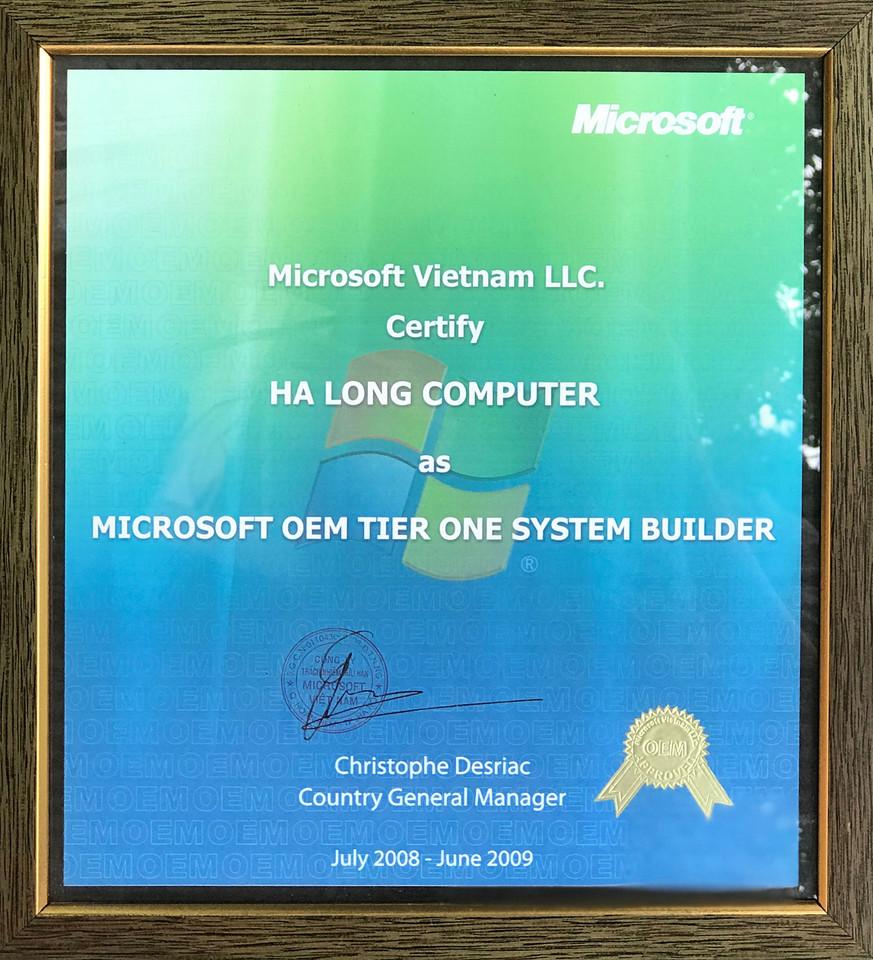 Nhà phân phối Microsoft