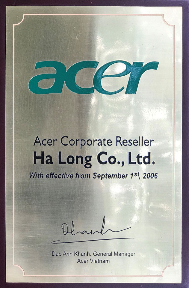 Nhà phân phối Acer