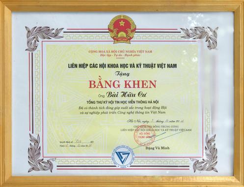 Mr. Cư - Tổng thư ký hội tin học HN